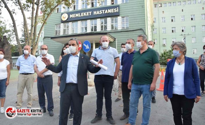 """CHP İl Başkanı Karaca: """"Bursalılar sağlık..."""