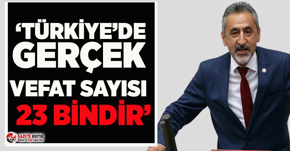 CHP'li Adıgüzel'den korkutan 'Gerçek...