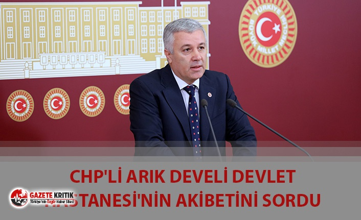 CHP'Lİ ARIK DEVELİ DEVLET HASTANESİ'NİN...