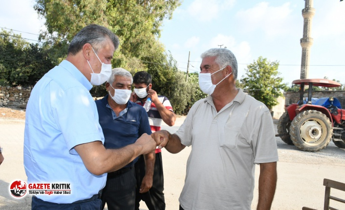 CHP'li Barut,Karataş Ovasında üretici köylülerle buluştu