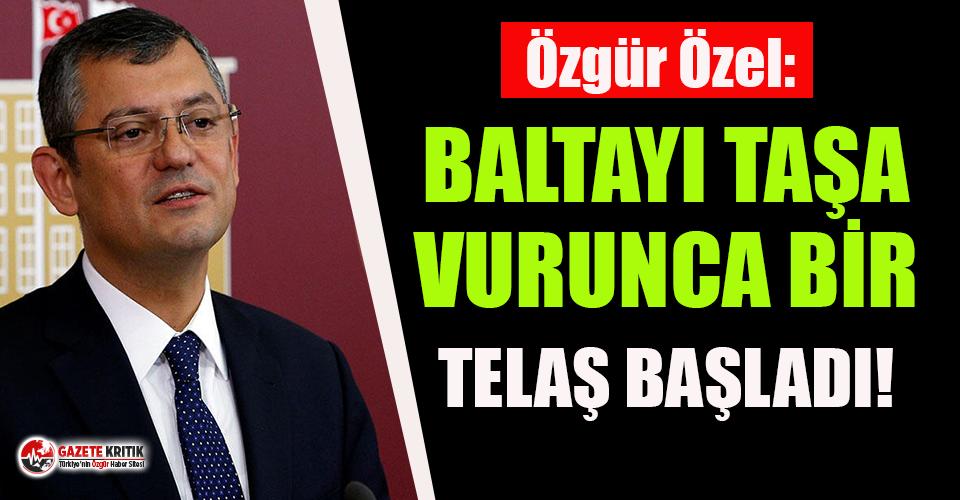 CHP'li Özel'den 'TTB kapatılsın'...