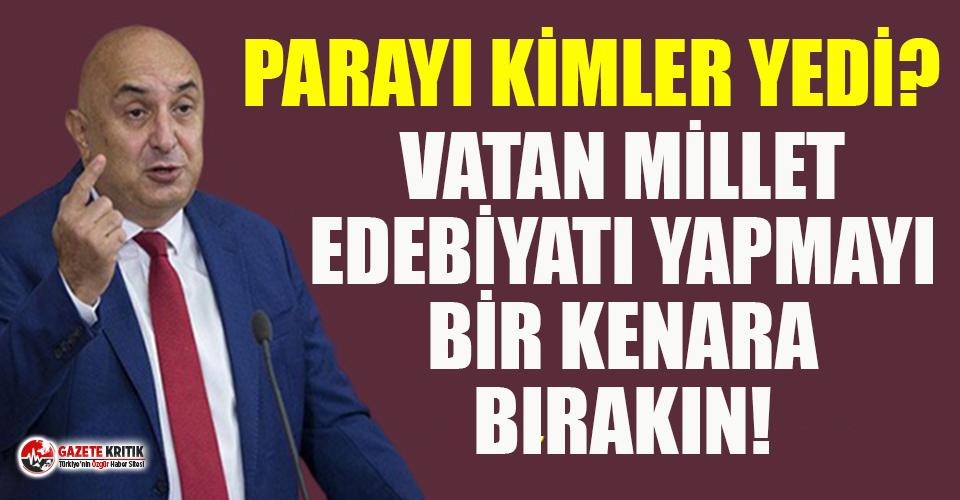 CHP'li Özkoç'tan Süleyman Soylu'ya...