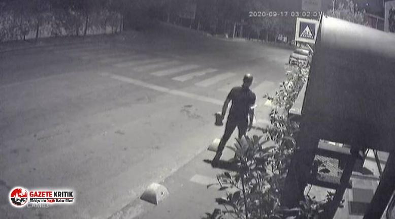 CHP'li vekil Kaboğlu'nun aracına yapılan saldırının görüntüleri çıktı