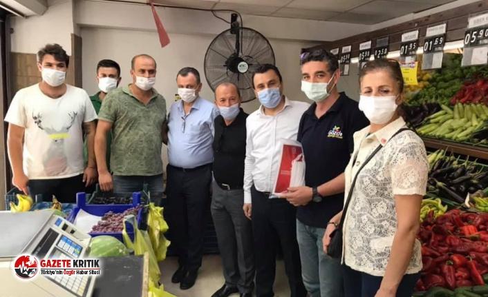 """""""CHP'li Başevirgen Manisa Esnafını Dinledi : Borç Batağındayız"""""""