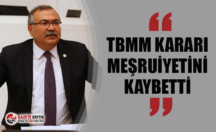 CHP'Lİ BÜLBÜL'DEN BERBEROĞLU KARARI AÇIKLAMASI...