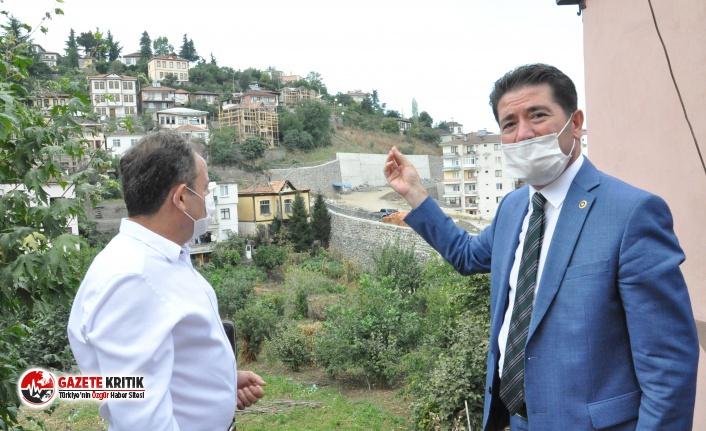 CHP'Lİ KAYA'DAN ORTA MAHALLENİN SİLÜETİNİ...