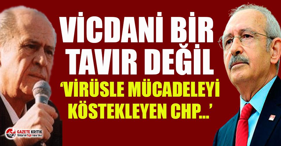 Devlet Bahçeli TTB'yi ziyaret eden Kılıçdaroğlu'nu hedef aldı