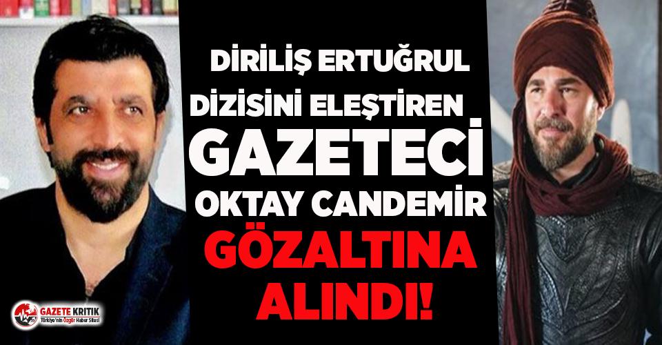 Diriliş Ertuğrul dizisini eleştiren gazeteci Oktay...