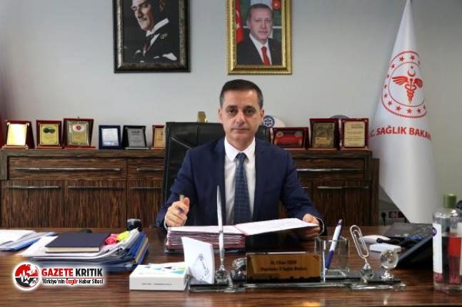 Diyarbakır İl Sağlık Müdürü Dr. Cihan Tekin...
