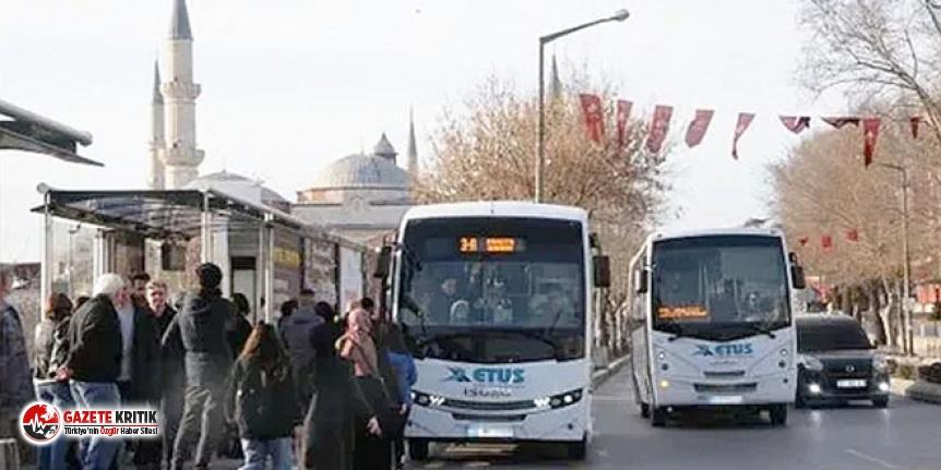 Edirne'de 65 yaş ve üzerine toplu ulaşımda kısıtlama getirildi