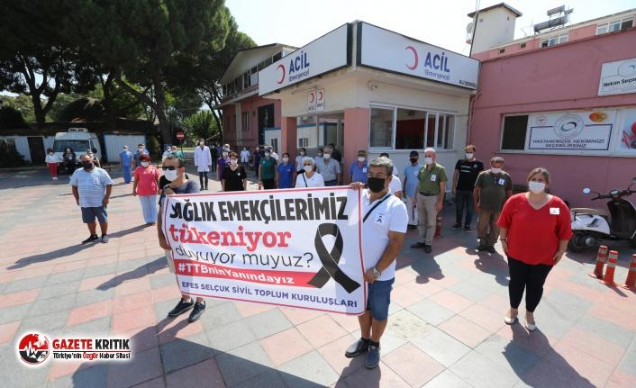 Efes Selçuk sağlık çalışanlarının yanında!