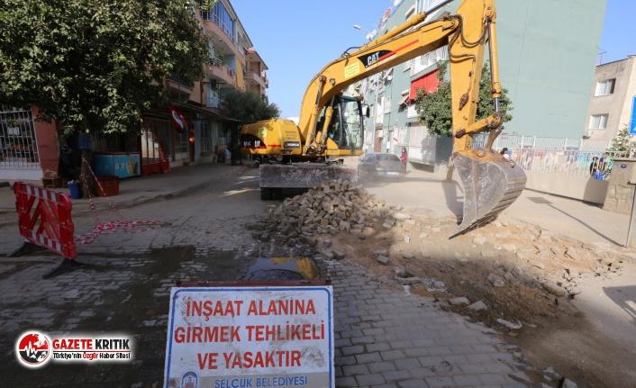 Efes Selçuk'un Sokakları Belediye'nin Öz Kaynaklarıyla Yenileniyor