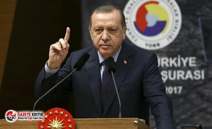 Erdoğan'dan TOBB ETÜ Mezuniyet Töreni'nde...