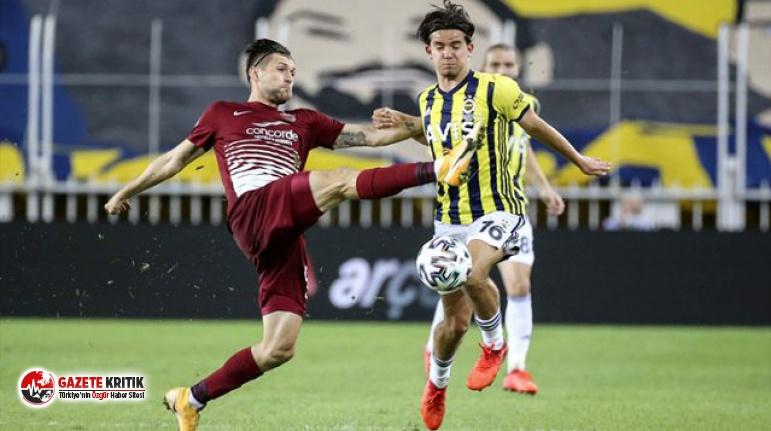 Fenerbahçe, evinde Hatayspor ile 0-0 berabere kaldı