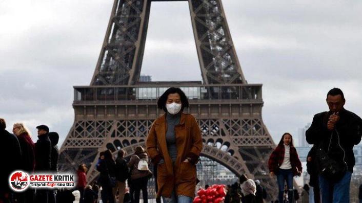 Fransa'da son 24 saatte 15 bin 797 Kovid-19 vakası görüldü