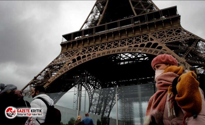 Fransa'da son 24 saatte 16 bin 96 yeni koronavirüs vakası görüldü