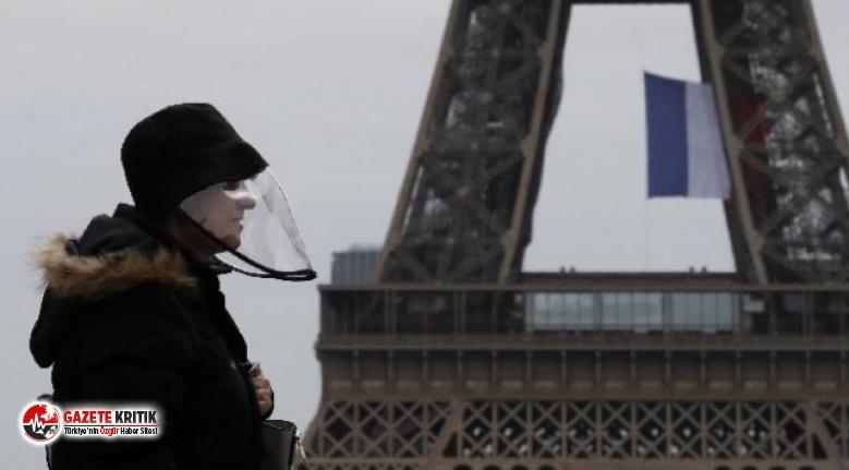 Fransa'da son 24 saatte 4 bin 70 yeni koronavirüs...