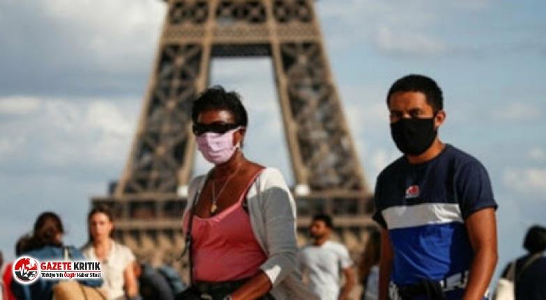 Fransa'da son 24 saatte 8 bin 577 korona virüs...
