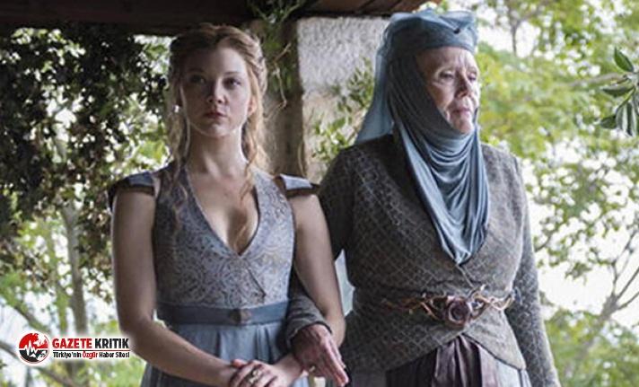 Game of Thrones'un Olenna Tyrell'i 82 yaşında...