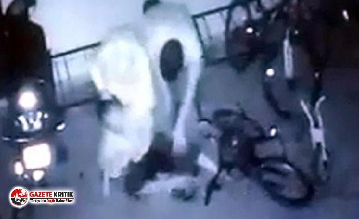 Gaziantep'te bir çift, oğullarıyla kavga eden komşu çocuğunu garajda dövdü