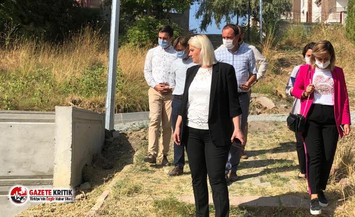Göl Vadi'de çalışmalar hızla sürüyor