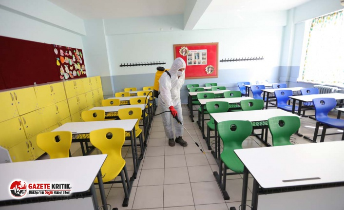 Güzelbahçe Belediyesi'nden okullarda Koronavirüs...