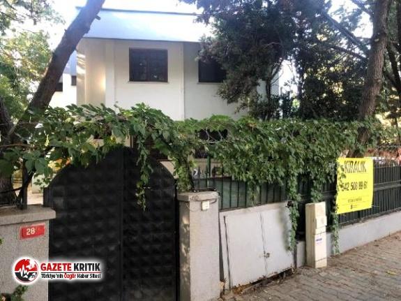 Halil Sezai'nin oturduğu villa kiralığa çıkarıldı