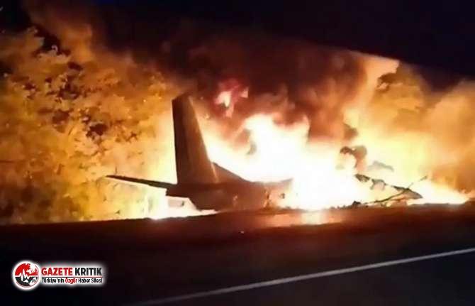 Harkov Valisi Aleksey Kuçer uçak kazasında ölü sayısının 22'ye yükseldiğini duyurdu