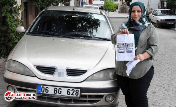 Hiç gitmediği İstanbul'dan park cezası geldi