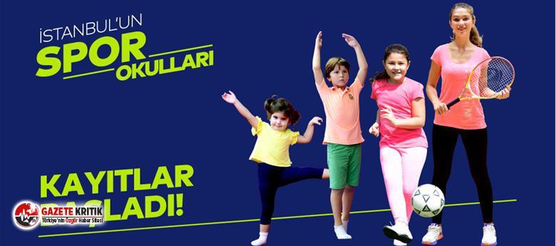 İBB, 3-12 yaş arası çocuklar için spor okulları...