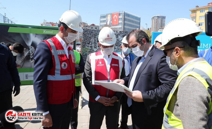 İBB ve Kartal Belediyesi'nin Ortak Çalışması...
