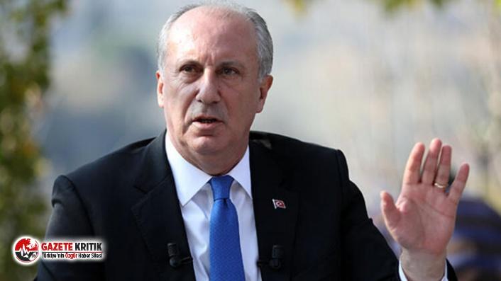 İnce'den Zaman Gazetesi yazarı Türköne'nin...