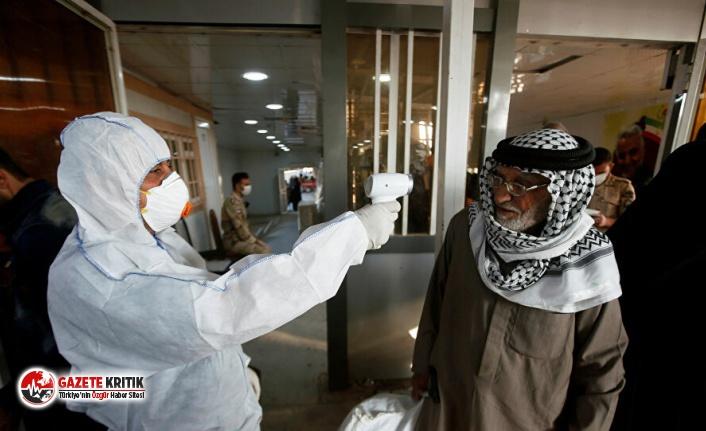 Irak'ta koronavirüs nedeniyle hayatını kaybedenlerin...