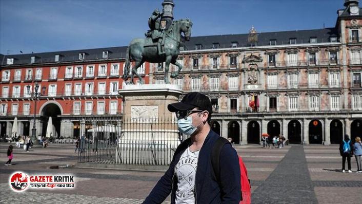 İspanya'da son 24 saatte 10 bin 653 yeni koronavirüs...