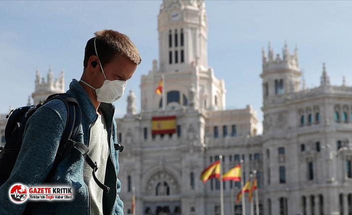İspanya'da toplam koronavirüs vaka sayısı...