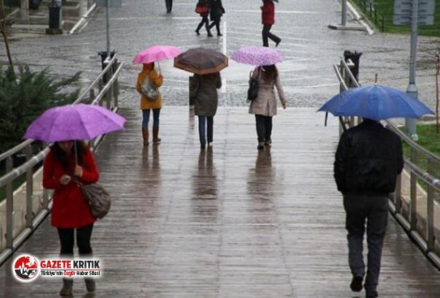 İstanbul hafta sonunu yağmurlu geçirecek