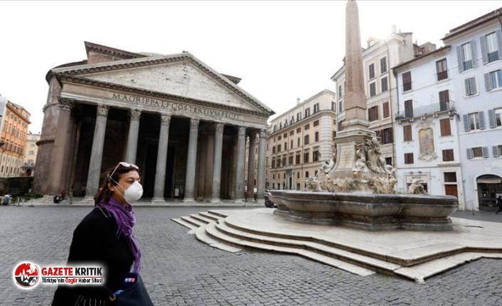 İtalya'da Kovid-19 salgınında son 24 saatte 1648 vaka tespit edildi