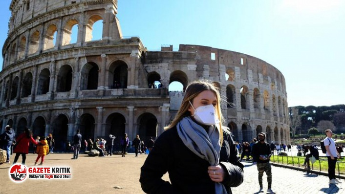 İtalya'da son 24 saatte 1229 koronavirüs vakası...