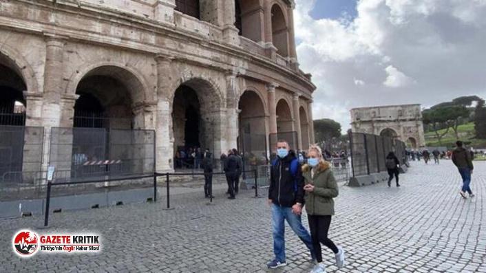 İtalya'da son 24 saatte 1786 yeni koronavirüs vakası tespit edildi