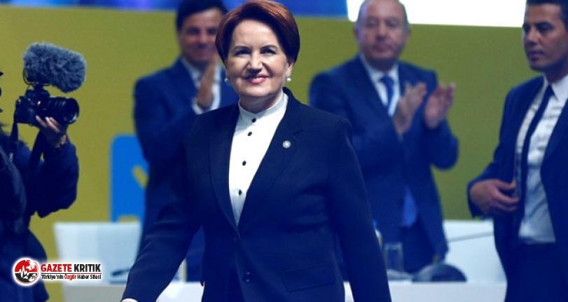 İyi Parti kurultayında tek aday olan Meral Akşener, bin 289 oyla genel başkan seçildi
