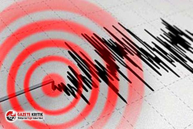 İzmir Körfezi'nde deprem!