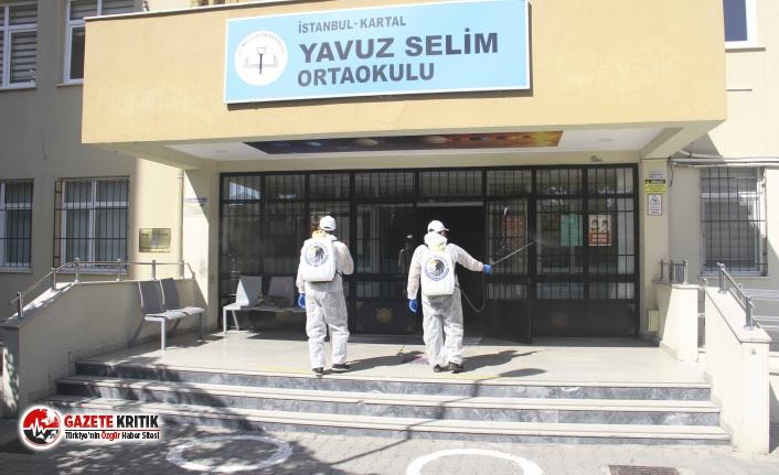Kartal Belediyesi Temizlik Ekipleri Okul ile İlk...