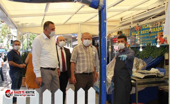 Kartal'da Koronavirüs Denetimleri Devam Ediyor