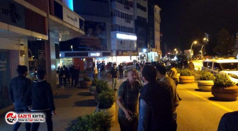 Kavgaya müdahale eden polis ve bekçilere saldırı:...