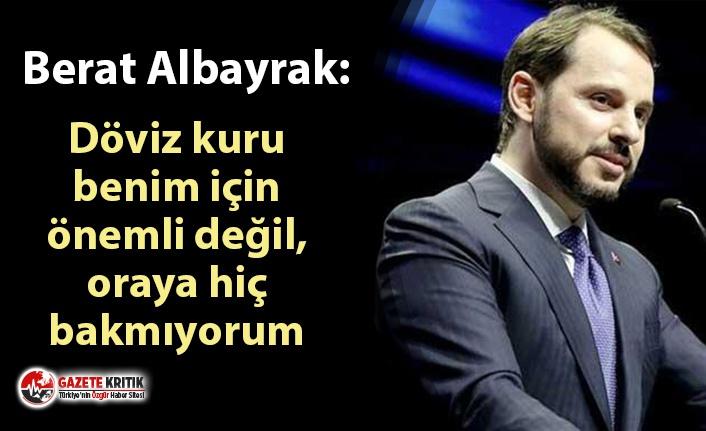 Maliye Bakanı Berat Albayrak'tan gazetecilere:...