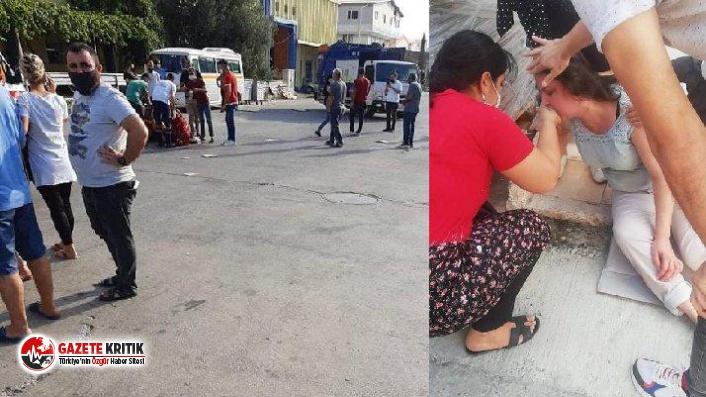 Mersin'de gaz sızıntısı: 20 çalışan zehirlendi