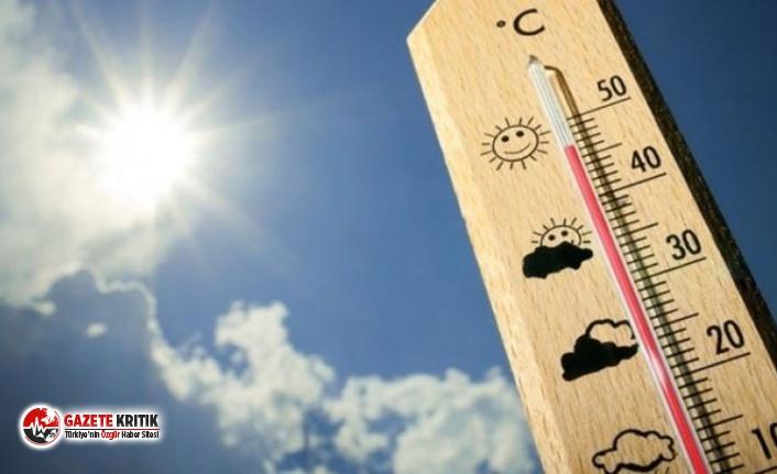 Meteoroloji açıkladı: Sıcaklıklar mevsim normallerinin...