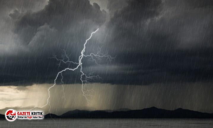 Meteoroloji'den 5 ile heyelan ve yıldırım uyarısı!
