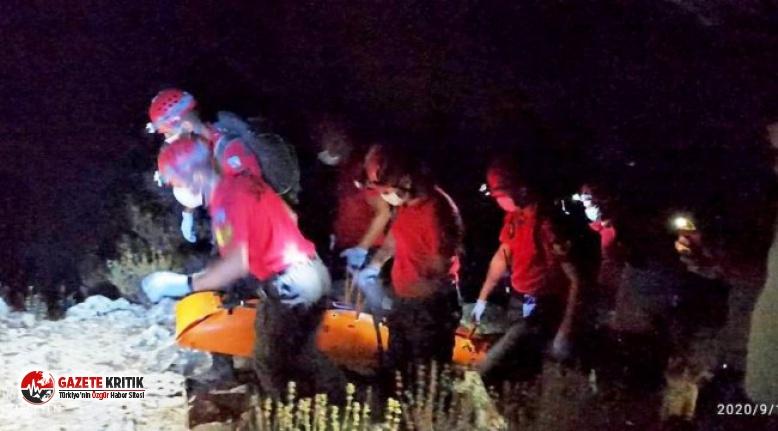 Muğla'nın Fethiye ilçesinde paraşüt kazası:...