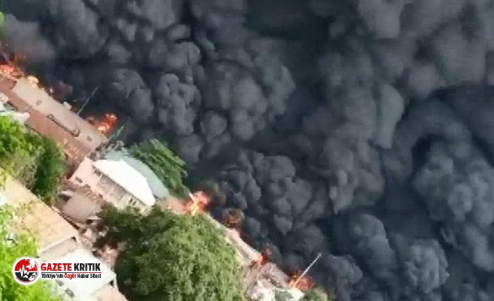 Nijerya'da yakıt tankeri patladı! 23 ölü